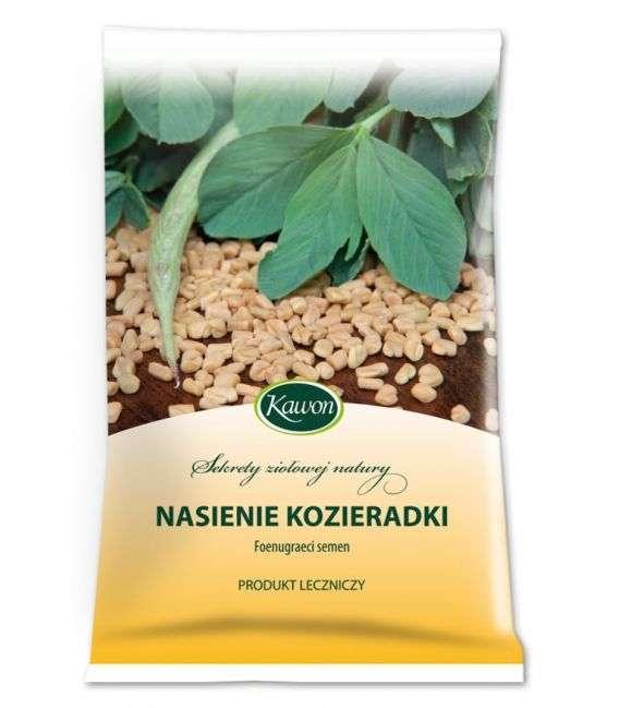 Nasiona Kozieradki - 100g - Kawon