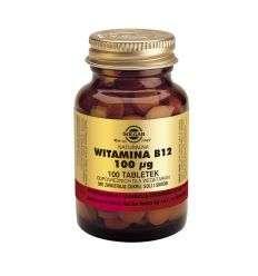 Witamina B12 100ug - 100tabl - Solgar