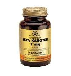 Beta caroten 7mg - 60kaps - Solgar