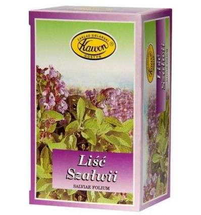 Szałwia liść fix - 30 x 1,5g - Kawon