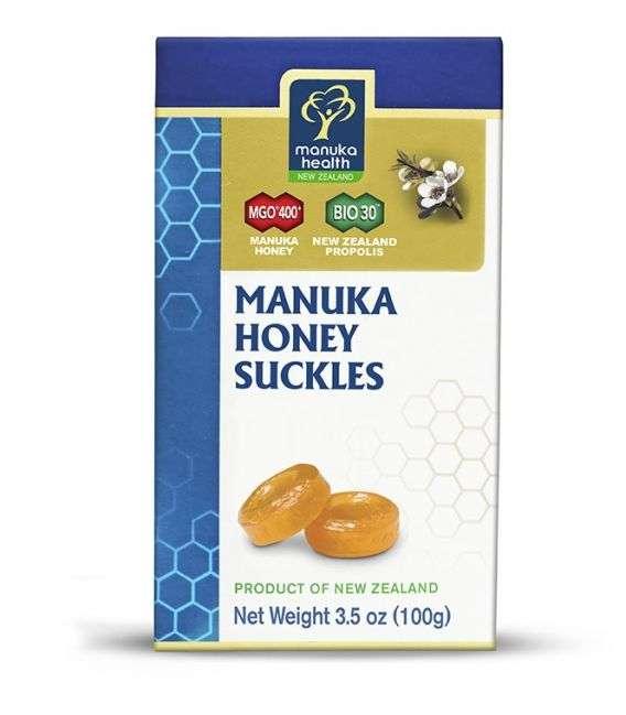 Cukierki z Miodem Manuka MGO 400 i propolisem - 20szt - Manuka Health NZ
