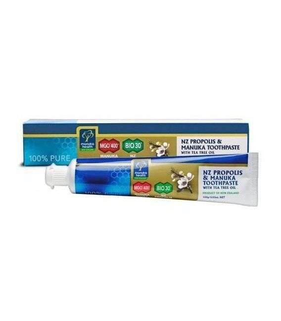 Pasta do zębów z miodem Manuka MGO 400+ BIO30 - 100g