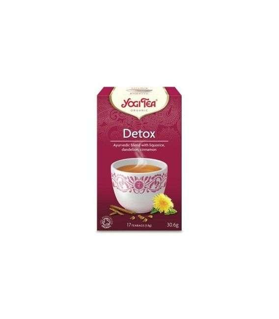 Herbata Detox (oczyszczająca) - 17x1,8g - Yogi Tea