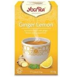 Herbatka Imbirowo-Cytrynowa Bio- 17x1,8g - 30,6g - Yogi Tea