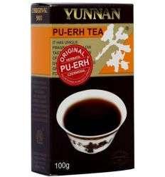 Pu-erh czerwona liść - 100g - Yunnan