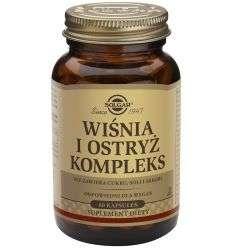 Wiśnie i ostryż komplex - 60kaps - Solgar