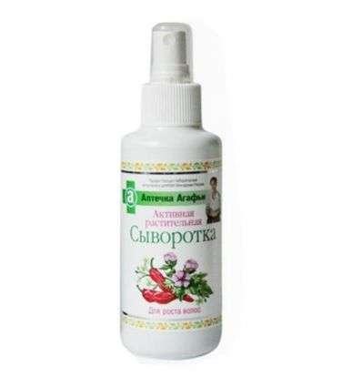 Serum aktywne Ziołowe na porost włosów Agafii - 150ml - Bioarp