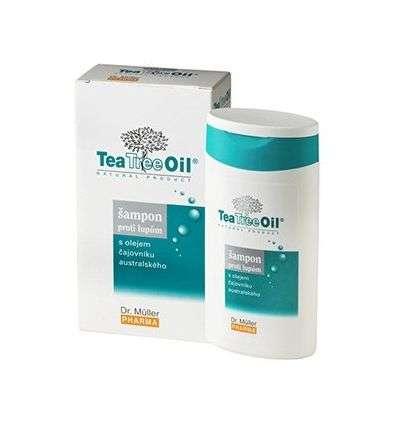 Szampon przeciwłupieżowy Tea Tree Oil - 200ml - Dr Müller Pharma