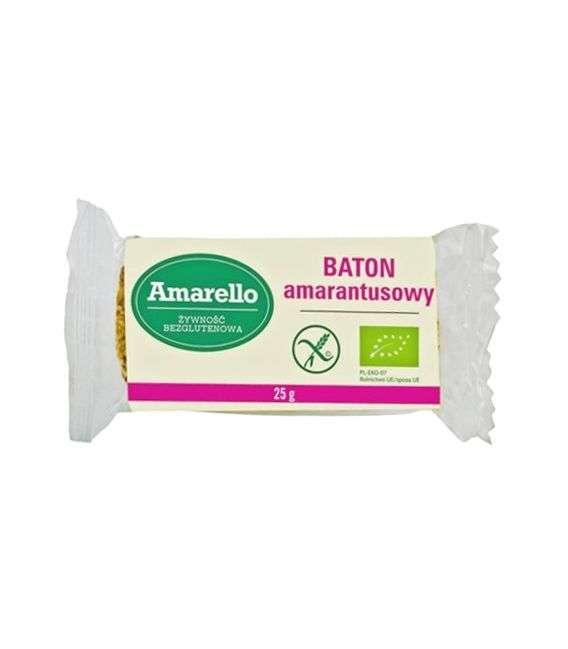 Baton amarantus bezglutenowy - 25g - Amarello