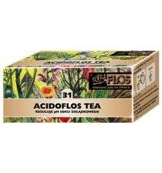 Acidoflos tea fix - 25 x 2g - Flos