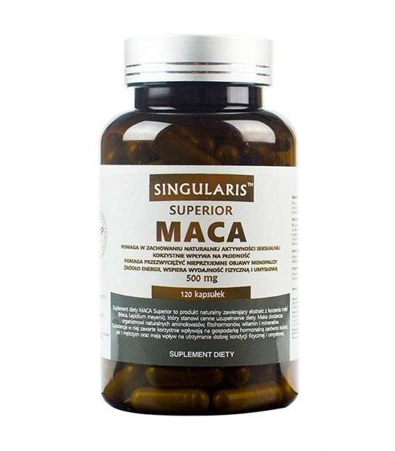 Maca 500mg Superior - 120kaps - Singularis