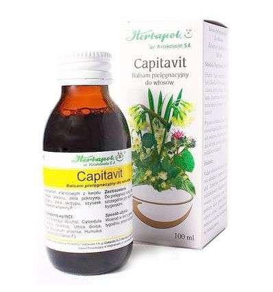 Balsam do włosów Capitavit - 100ml - Herbapol Kraków