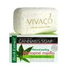 Mydło z konopiami - 100g - Vivaco