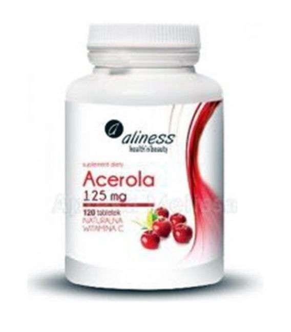 Acerola 125mg Aliness - 120tabl - MedicaLine