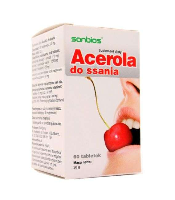 Acerola do ssania - 60tabl - Sanbios