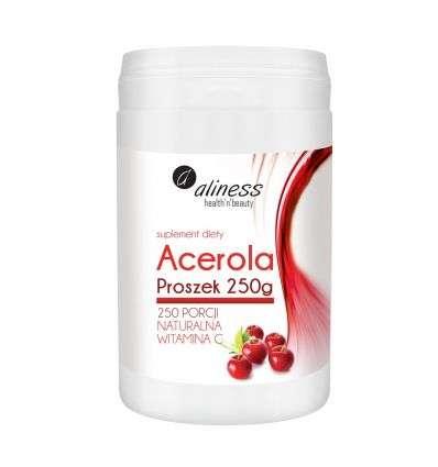 Acerola Proszek Aliness - 250g - MedicaLine