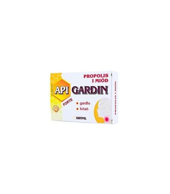 API-GARDIN FORTE propolis miód - 16past - Bartpol