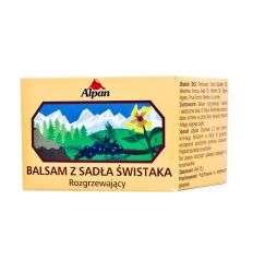 Balsam z sadła świstaka rozgrzewający - 50g - Alpan