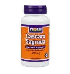 Cascara Sagrada 450mg - 100kaps. - NOW