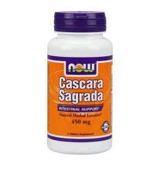Cascara Sagrada 450mg - 100kaps. - NOW
