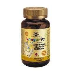 Kanguwity Witaminy i minerały owoce tropikalne - 60past - Solgar