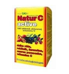 Natur C active - 100tabl - Sanbios