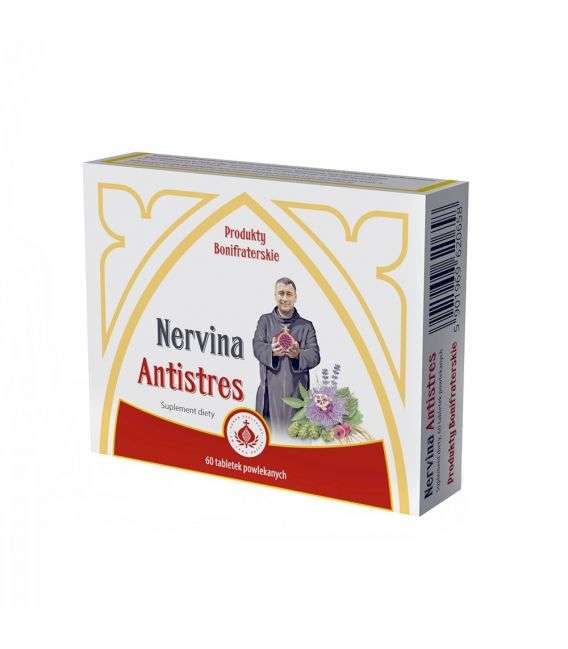 Nervina Antistres - 60tabl - Produkty Bonifraterskie