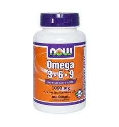 Omega 3-6-9 (1000mg) - 100kaps - NOW