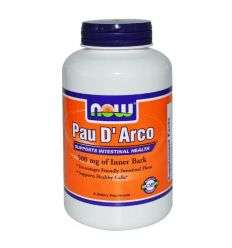 Pau Darco (la pacho) 500mg - 100kaps - NOW