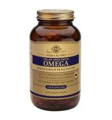 Pełne spektrum omega - 120kaps - Solgar