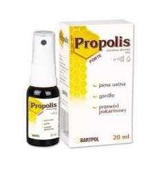 Propolis Forte etanolowy ekstrakt 10% - 20ml - Bartpol