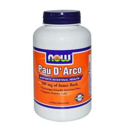 Pau Darco (la pacho) 500mg - 250kap - NOW