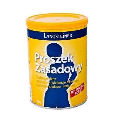 Proszek zasadowy bez laktozy - 300g - Langsteiner