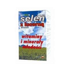 Selen z lucerną - 50tabl - Sanbios