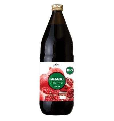 Sok Granat 100% BIO - 1000ml - Dr Gaja