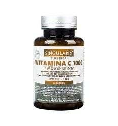 Witamina C 1000 + Bioperine Superior - 60kaps - Singularis