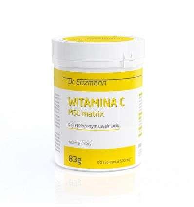 Witamina C MSE Matrix Dr Enzmann - 90 tabl - Mito Pharma
