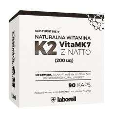 Witamina K2 200mg - 90kaps - Laborell