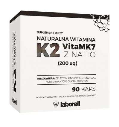 Witamina K2 200mg - 90kaps - Laborell