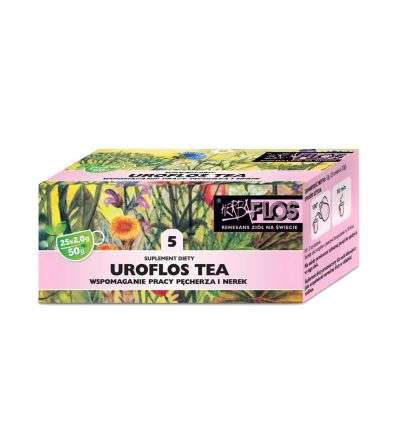 Uroflos tea fix - 25 x 2g - Flos