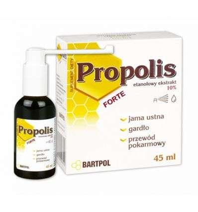 Propolis Forte etanolowy ekstrakt 10% - 45ml - Bartpol