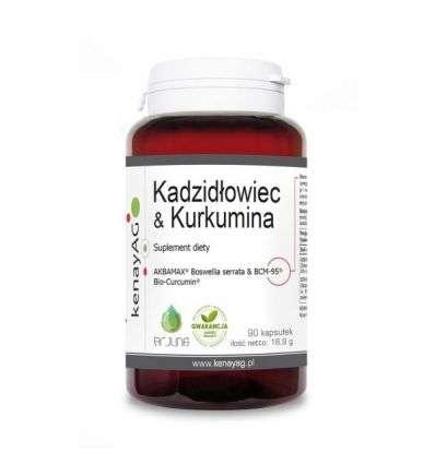 Kadzidłowiec & kurkumina - 90kaps - Kenay