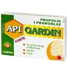 Apigardin Forte propolis i prawoślaz - 16 past - Bartpol