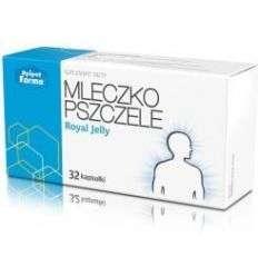 Mleczko pszczele liofilizowane - 32 kaps - Apipol