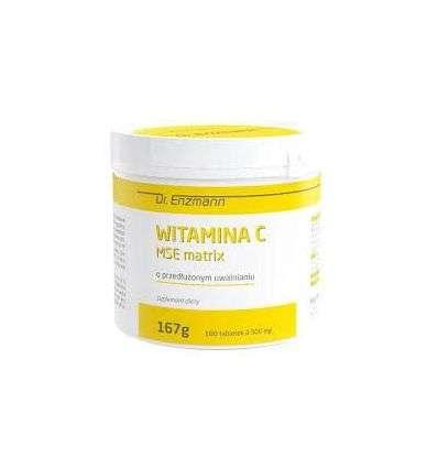 Witamina C MSE Matrix Dr Enzmann - 180 tabl - MSE Pharmazeutika GmbP