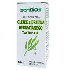 Olejek z drzewa herbacianego - 10ml - Sanbios