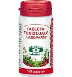 Tabletki tonizujące - 90 tabl - Labofarm
