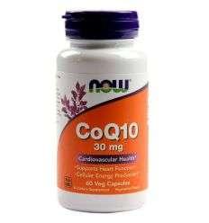 Koenzym Q10 30 mg - 60kaps - NOW