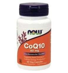 Co Q10 60 mg - 60 kaps - NOW