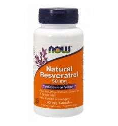 Resveratrol 50mg - 60kaps - NOW